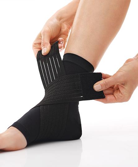 chevilliere ligamentaire à l'orthopedie des monts d'or